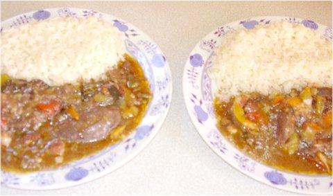 FOTKA - srpnové fotky-133ab-vepřová játra po cikánsku s rýží
