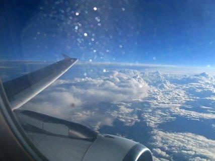 FOTKA - vysoko nad oblaky,