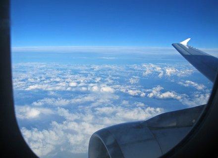 FOTKA - vysoko nad oblaky,,,