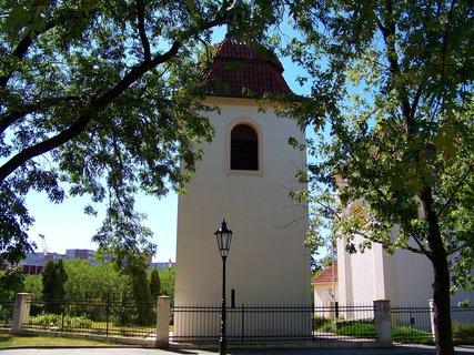FOTKA - 28.8.12, kostel Sv. Pankráce s parkem..