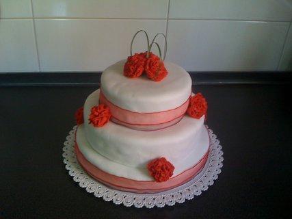 FOTKA - svatební dortík