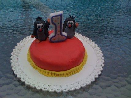 FOTKA - dort s krtečky