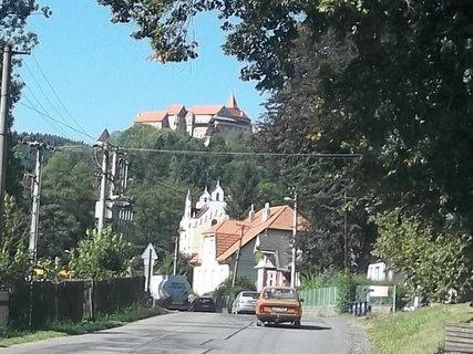 FOTKA - Bystřice pod Perštejnem..pohled na hrad