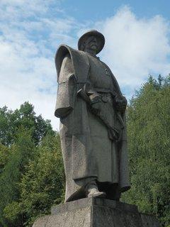 FOTKA - Trocnov - pomník Jana Žižky od Josefa Malejovského