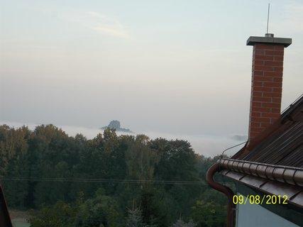 FOTKA - 9.9.2012..mlha v Janově v Českém Švýcarsku