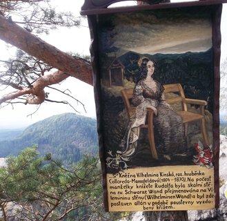 FOTKA - České Švýcarsko, Jetřichovice..Wilhelminina vyhlídka