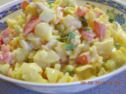 FOTKA - 17-těstovinový salát