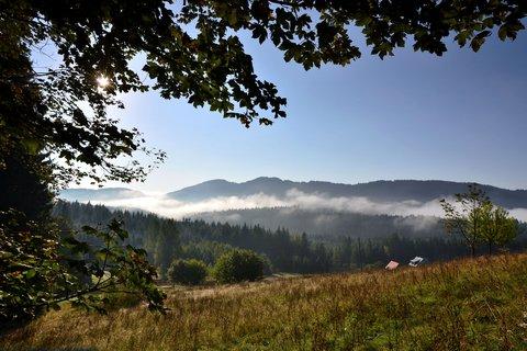 FOTKA - Ráno v Beskydech