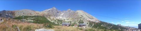 FOTKA - panorama Lomnický štít