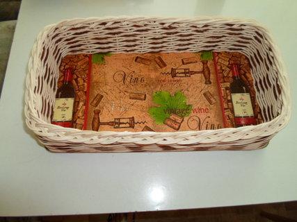 FOTKA - košík na víno 6