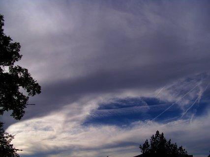 FOTKA - 26.9.2012, odpolední obloha