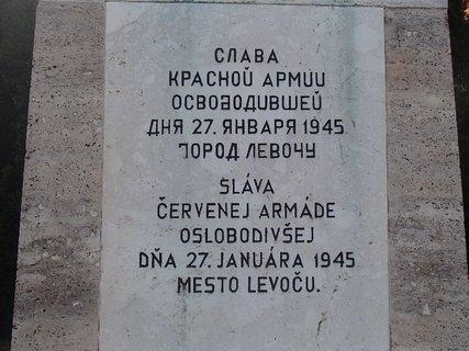 FOTKA - Levoča-pamätník.