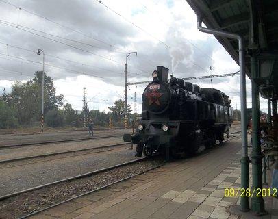 FOTKA - Vlak jel Olomouc-Tova�ov a zp�t