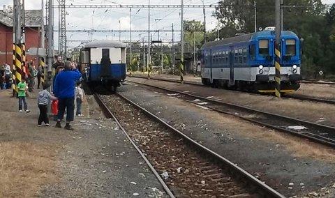 FOTKA - Vlak měl zastávku v Kojetíně