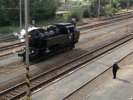 FOTKA - Parní lokomotiva