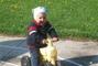 Na motorce u babičky