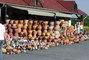 Maďarsko - obchod plný keramiky