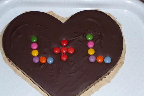 FOTKA - čokoládové srdce:)