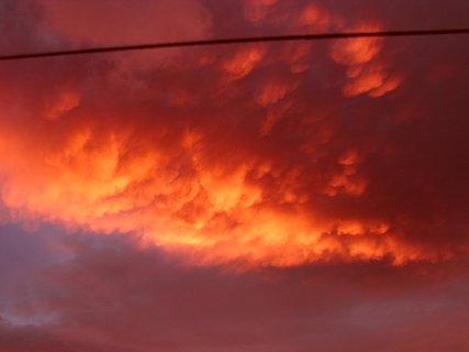 FOTKA - Včerejší nebe