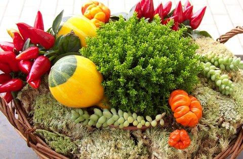 FOTKA - ozdobné podzimní košíčky 2