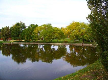 FOTKA - sobotní prosluněná procházka, kunratický malý rybník