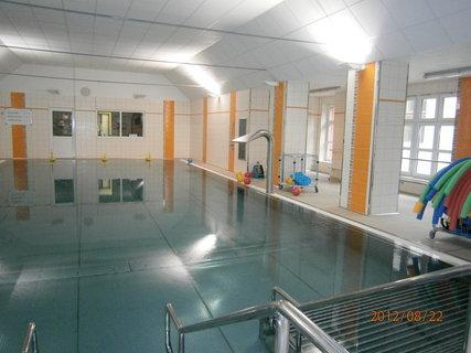 FOTKA - Nový rehabilitační bazén v Hamzově léčebně
