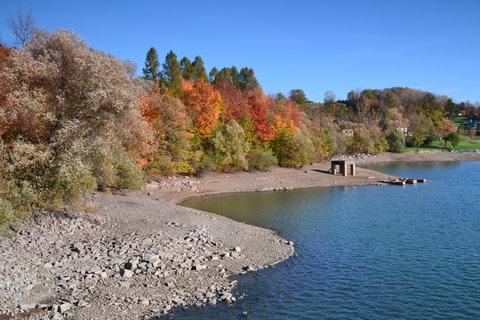 FOTKA - Podzim u přehrady