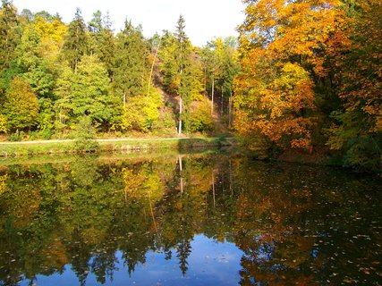 FOTKA - 18.10.12, Dolnomlýnský rybník, Kunratice