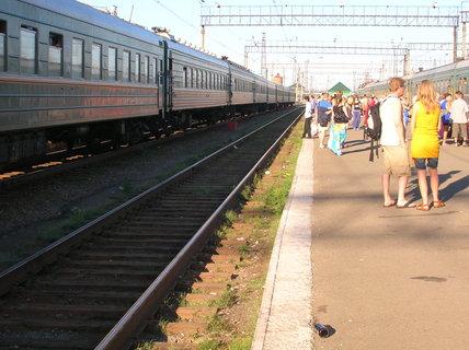 FOTKA - nádraží Barabinsk 3
