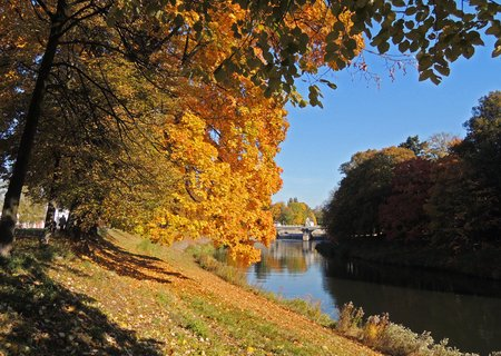 FOTKA - podzimní čas u Labe