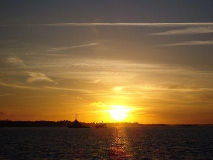 FOTKA - moře a západ slunce