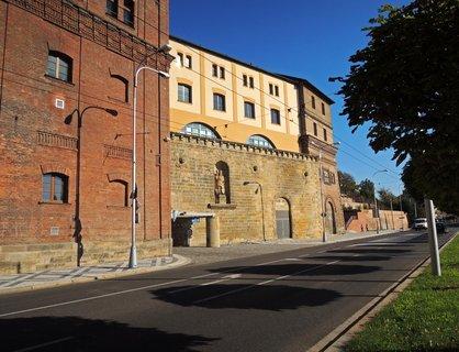 FOTKA - část bývalého pivovaru, dnešní sídlo krajského úřadu