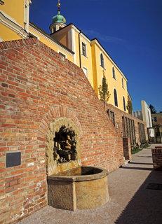 FOTKA - kašny v jižních terasách ve staré  části města
