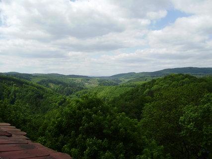 FOTKA - pohled z hradní věže