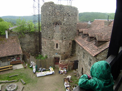 FOTKA - pohled z hradní věže 3