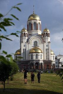 FOTKA - Jekatěrinburg 12, Chrám na krvi