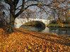 most Kameňák v odpoledním podzimním slunci