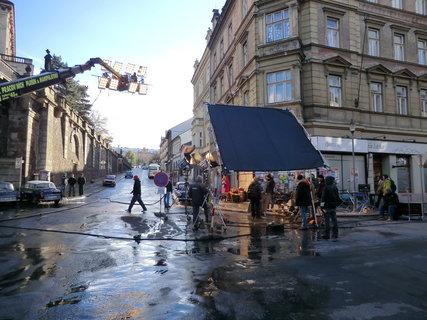 FOTKA - Ve městě se filmovalo