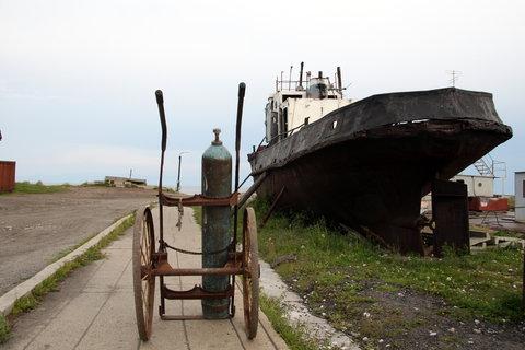 FOTKA - přístav u Bajkalu