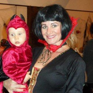 FOTKA - mam�a s �d�bl�kem Dennynkem