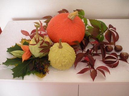 FOTKA - podzimní dekorace....