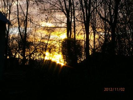 FOTKA - Dnešní západ slunce.