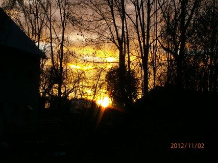 FOTKA - Dnešní západ slunce..