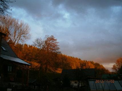 FOTKA - Dnešní západ slunce....