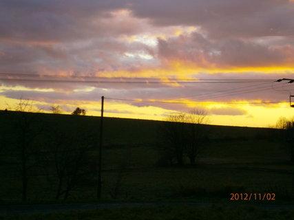 FOTKA - Dnešní západ slunce..........