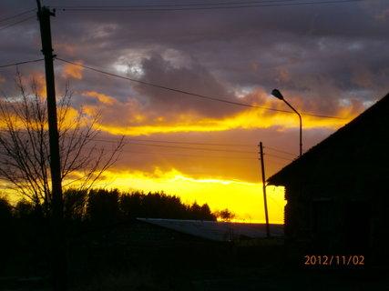FOTKA - Dnešní západ slunce...........