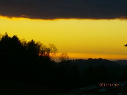 FOTKA - Dnešní západ slunce.............
