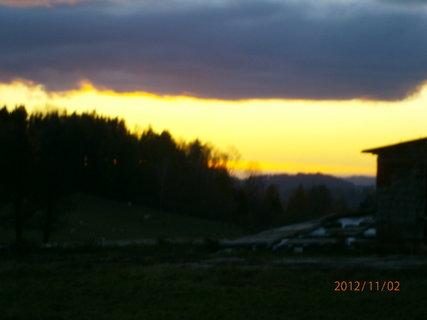 FOTKA - Dnešní západ slunce..............
