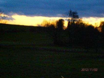 FOTKA - Dnešní západ slunce...............