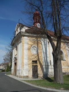 FOTKA - kostel  / Panenský Týnec / Slánsko